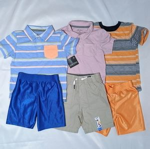 3 Shirt and Shorts Set Size 3T 2 Pieces W/Tag